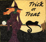 Sexy Witch Applique Example by Sonya Fetch