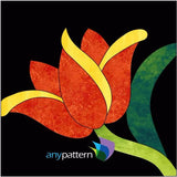 Tulip Applique Block Kit