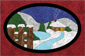 Winter Wonderland Quilt Applique Pattern