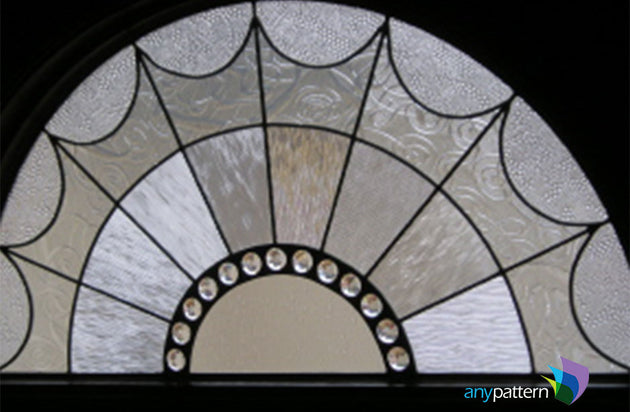 Abstract Arch Web Stained Glass Final Example