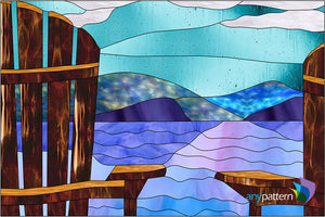 Relax Stained Glass Pattern