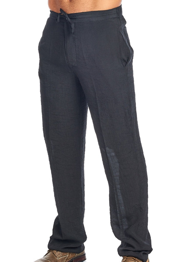 Men's Resort Wear Casual Drawstring  Pants