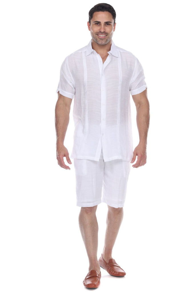 Men's Button Down Beachwear Short Sleeve Shirt