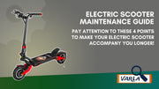 Electric Scooter Maintenance Guide