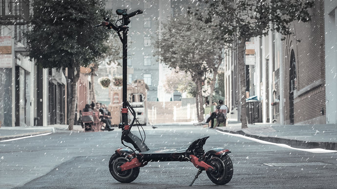 Tips for Riding Scooters in Winter