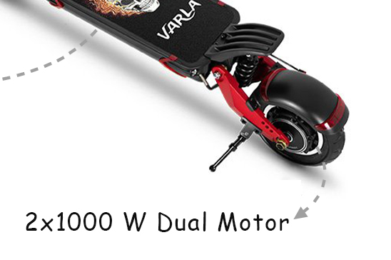 Dual motor electric scooter Varla Scooter