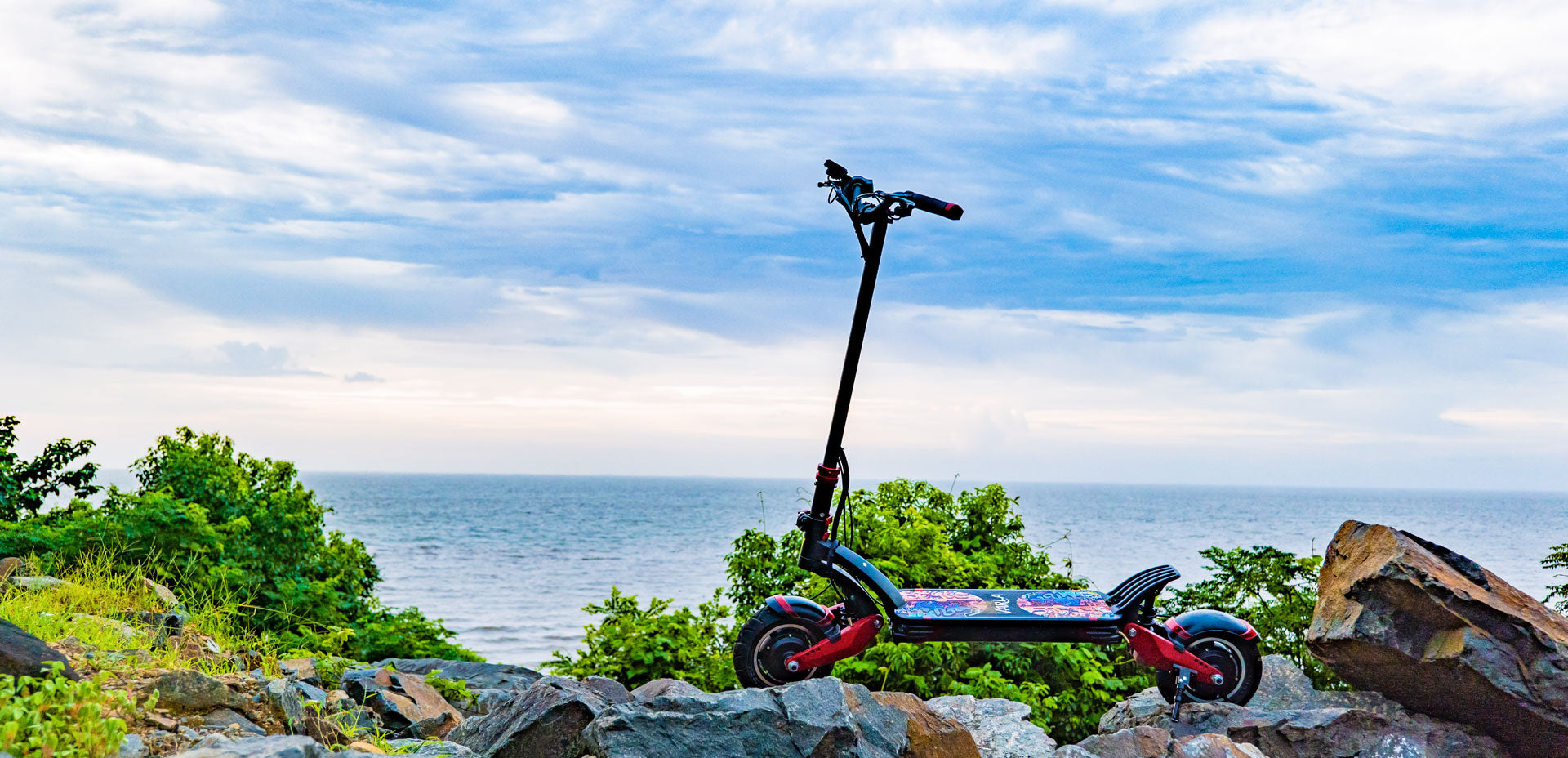 the best off road electric scooter Varla Eagle One