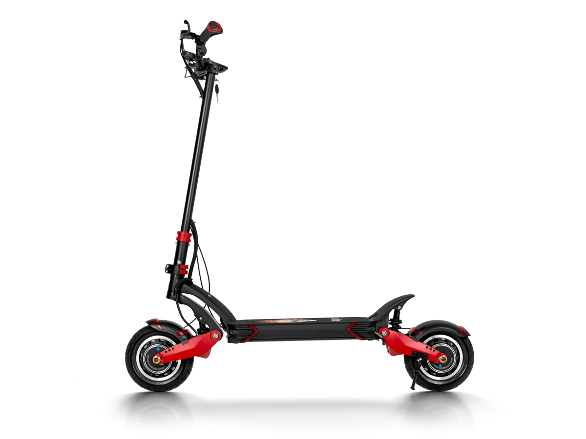 1000W Dual Hub Motor Top Speed 40 MPH Climbing Angle 30 Degree