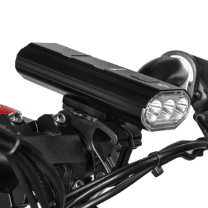 rechargeable front lights instantly improve your visibility and safety