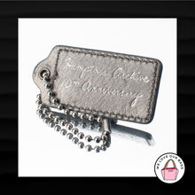 Load image into Gallery viewer, COACH HAMPTONS ARCHIVE 10TH ANNIVERSARY LEATHER KEY FOB BAG KEYCHAIN HANG TAG