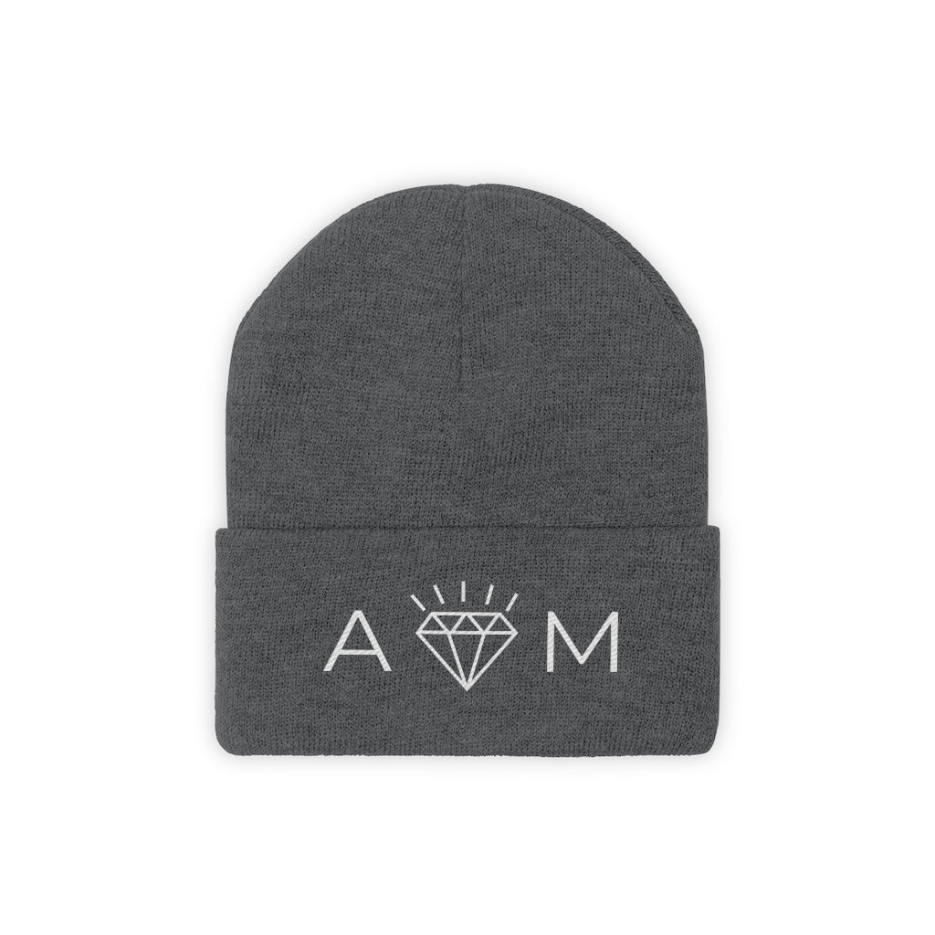 "AOM Knit Beanie will keep you warm and ""cool""!!"
