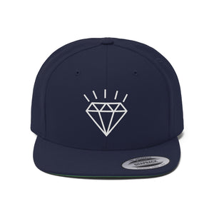 Be seen reppin' AOM with the Unisex Flat Bill Hat!