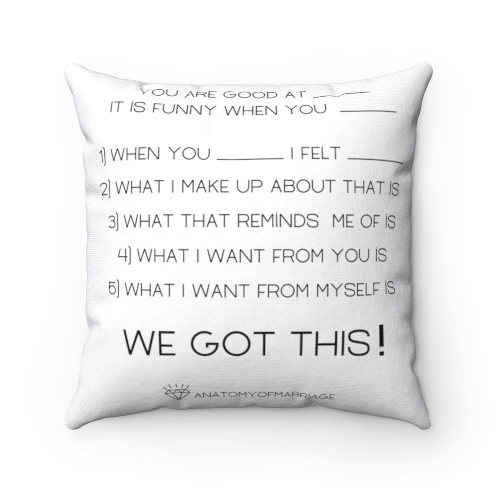 Yep- The Clearing Structure pillow.  Use it DAILY!!!   Spun Polyester Square Pillow