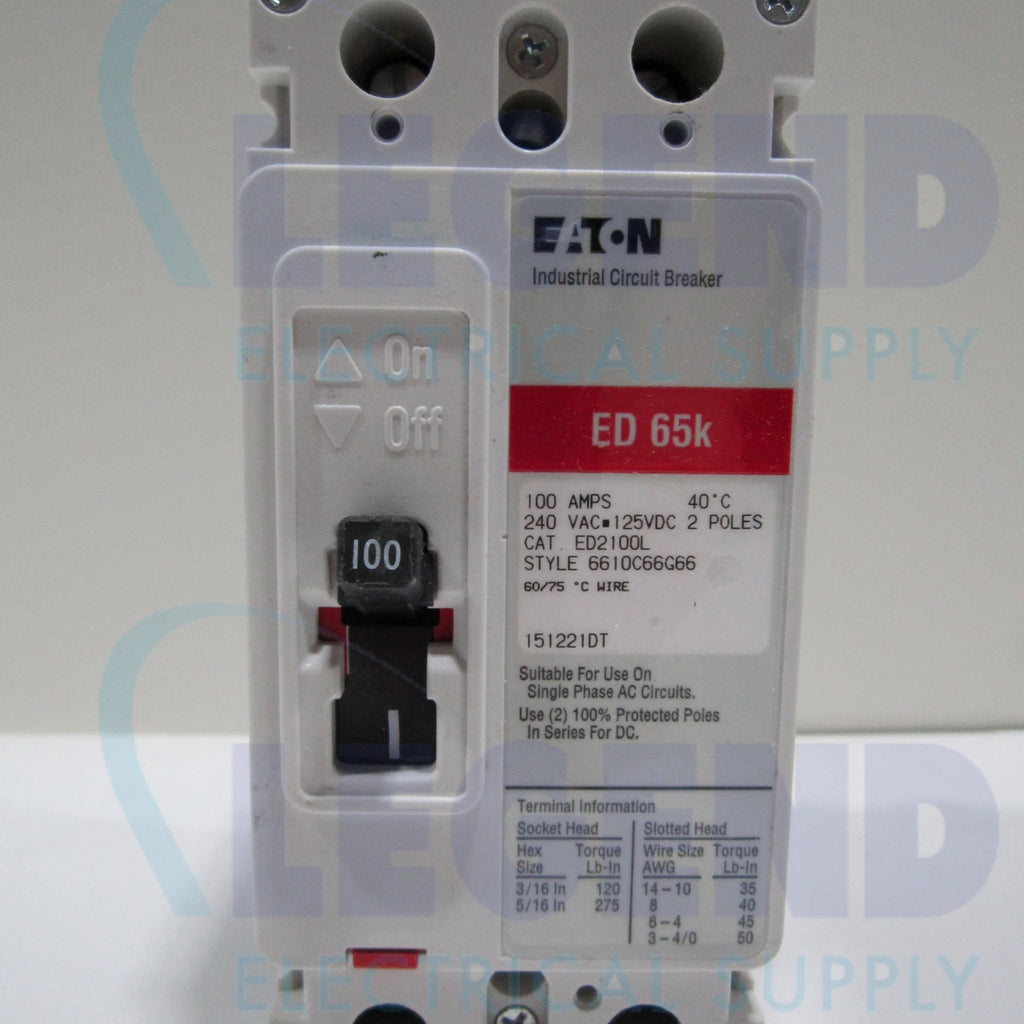 ED2100L – Legend Electrical Supply