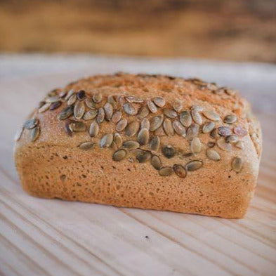 100% Kamut Bread with Pumpkin Seeds