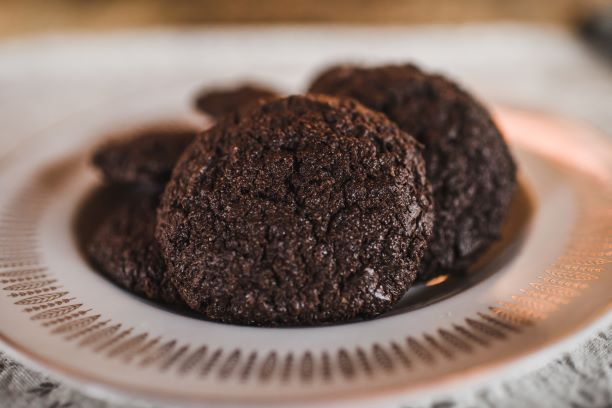 Double Chocolate Rye Cookies