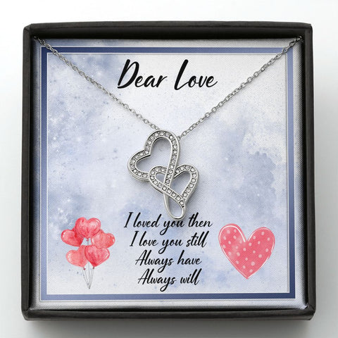 Valentine's Day Gift for Love | Love Necklace for Valentine's Day | 2021 Valentine's Day Gift | Love You More Necklace