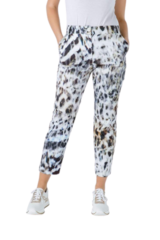 Conquista Fashion Women's Fashion - Women's Clothing - Bottoms - Pants & Capris Animal Print Fitted Pants - The Elia