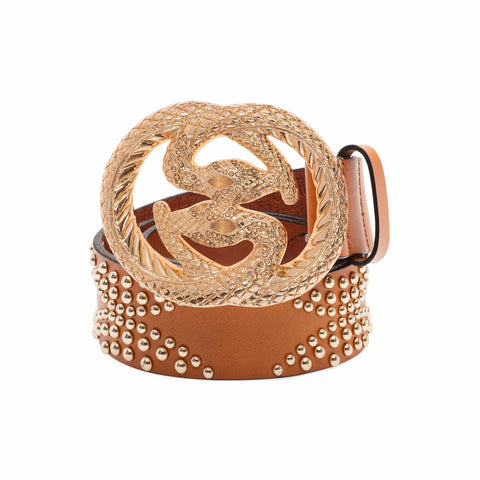 CONTORNO BELTS Bags & Luggage - Women's Bags - Wallets Blair Snake Glam Belt
