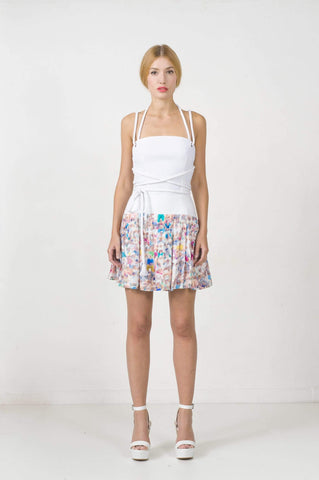 EON Paris Women's Fashion - Women's Clothing - Skirt Printed Skirt - Imported from Europe