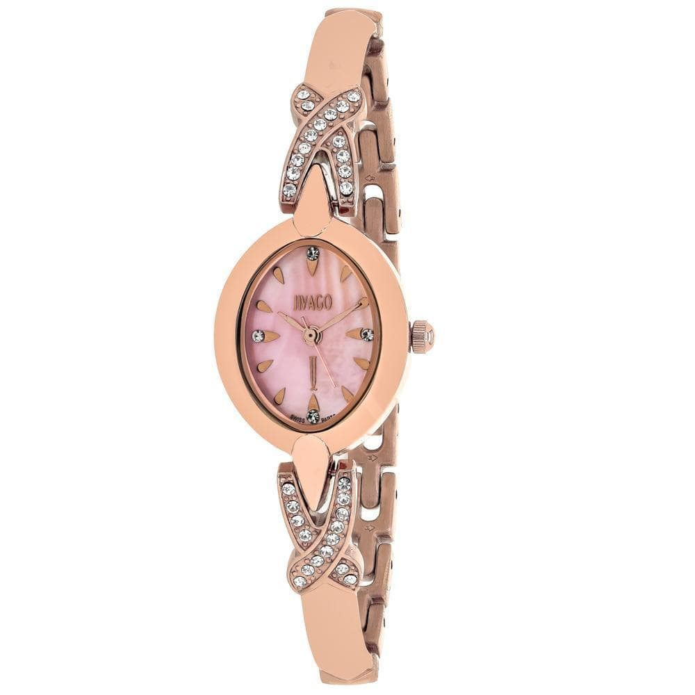 Jordyn Women's Pink Mother of Pearl Watch