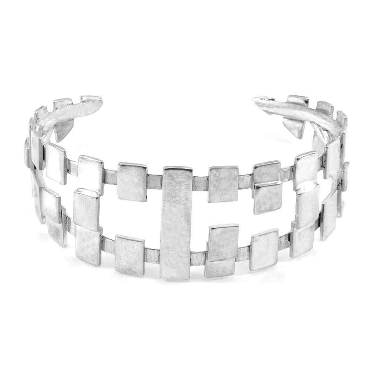 Surf Silver Bangle - Unique European Import