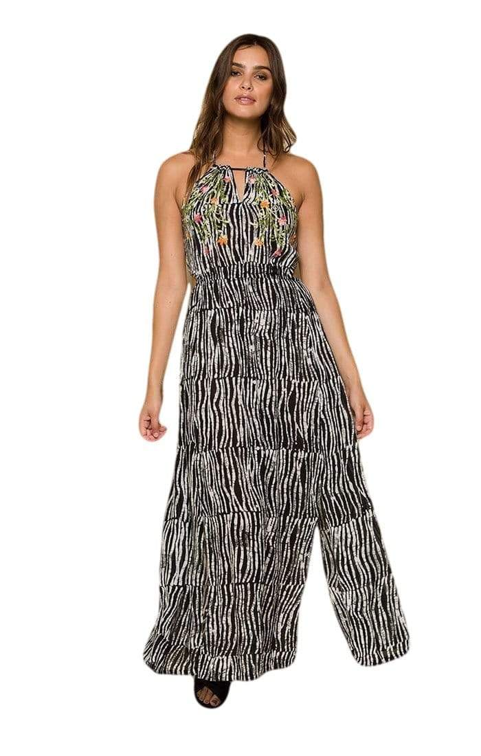 Avery Before Dawn Keyhole Maxi Dress