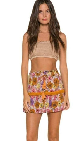 Rana Wild Gardens Mini Skirt