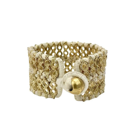 Gold Cuff - 4 Colors Available - The Riya