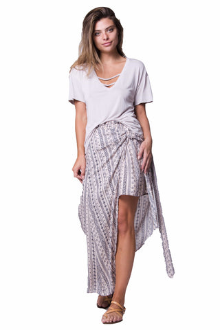 Wanderlux Women's Fashion - Women's Clothing - Skirt S Wrap Skirt - The Nema