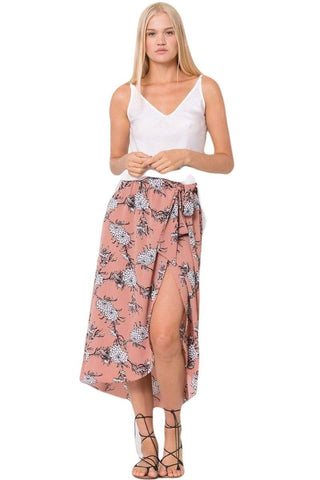 Wanderlux Women's Fashion - Women's Clothing - Skirt XS Marie Midi Skirt