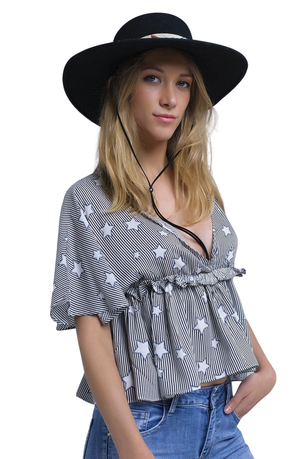 Seeing Stars Top - The Carla