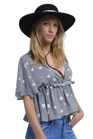 Women's Fashion - Women's Clothing - Blouses & Shirts Seeing Stars Top - The Carla Q2