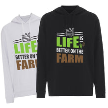 Load image into Gallery viewer, Life is better on the Farm - Hoodie