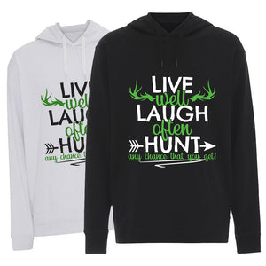Live Well, Laugh Often - Hoodie