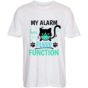 My Alarm is Purr Function - T-Shirt