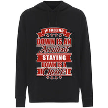 Load image into Gallery viewer, Falling Down Staying Down - Hoodie