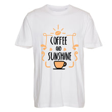 Load image into Gallery viewer, Cofffee and Sunshine - T-Shirt