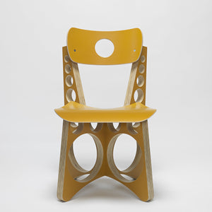 SHOP CHAIR (YELLOW)