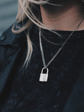 Load image into Gallery viewer, Padlock Necklace