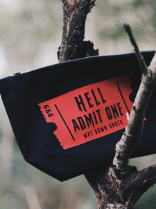 Hell Admit One Pouch