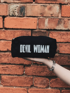 Devil woman accessory pouch