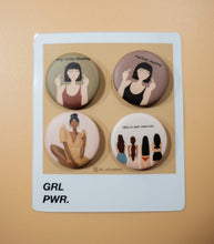 Load image into Gallery viewer, GRL PWR Pins