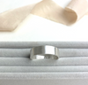 The Guinea Personalised Unisex Ring - sterling silver personalised chunky ring - hand stamped monogram and name jewellery