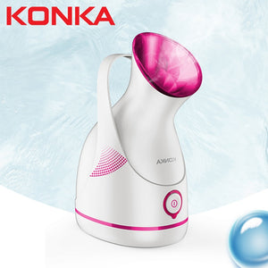 KONKA Facial steamer Large-capacity water tank 60ml Gentle and Deap cleaning face steamer Electric spa face steamer Whitening