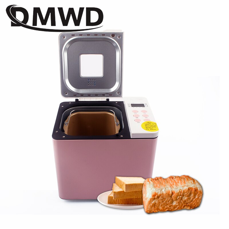 Automatic Multifunction Cake Bread Maker Intelligent Toaster Breadmaker Dough Blender Mixer Ice Cream Machine Yogurt Fermenter
