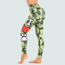 Load image into Gallery viewer, Tropical Leafs Sexy High Waist Legging Anti Cellulite Slim Elasticity Push Up Fitness Gym Leggings Women Pants Stacked Leggings
