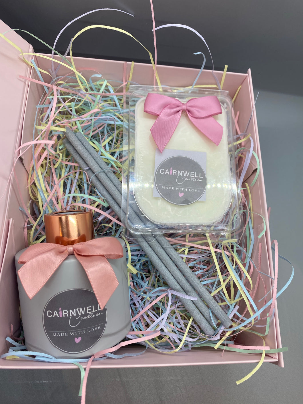 Classic Reed Diffuser Gift Set with Clamshell