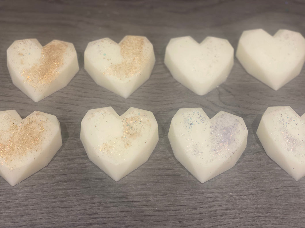 Limited Edition  Geometric Heart Wax Melt