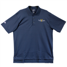Load image into Gallery viewer, Men's adidas Climalite Navy Blue Polo